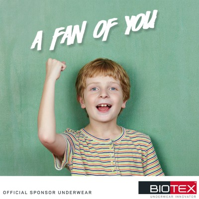 Biotex is a fan of you