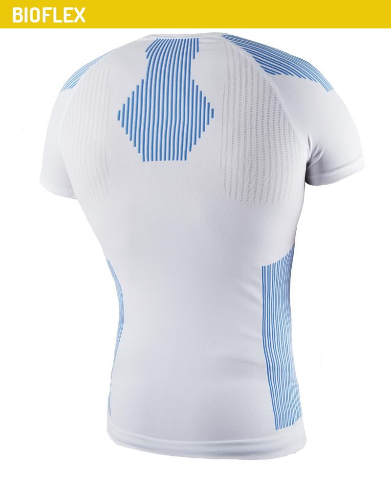 t-shirt multitrama elasticizzata